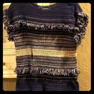 Gorgeous knit top 100% cotton NWOT